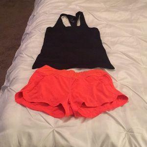 Nike and Athleta Shorts
